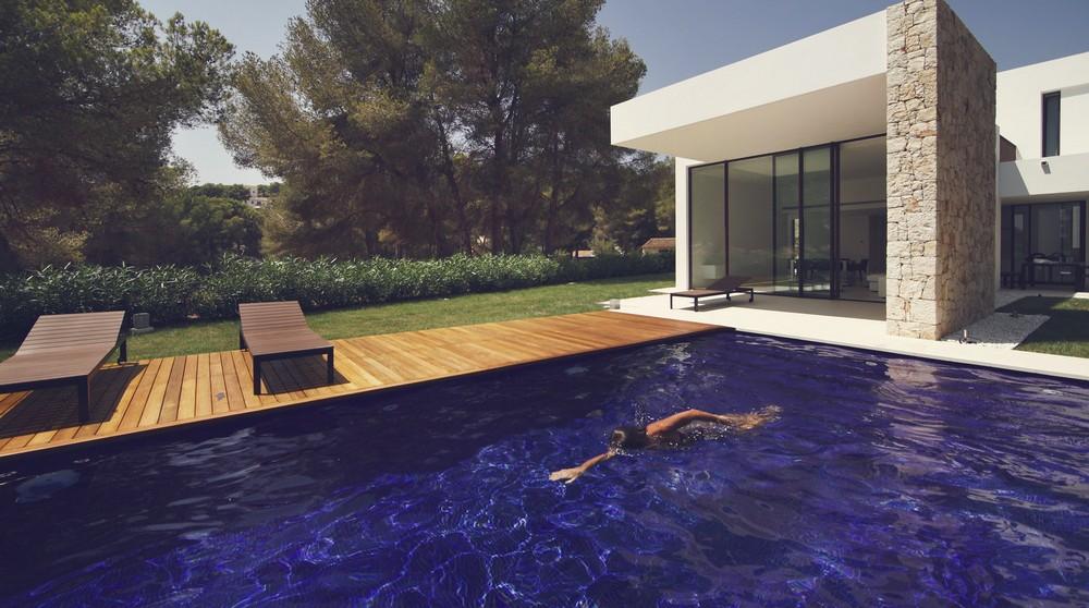 Вилла на берегу Средиземного моря в Испании