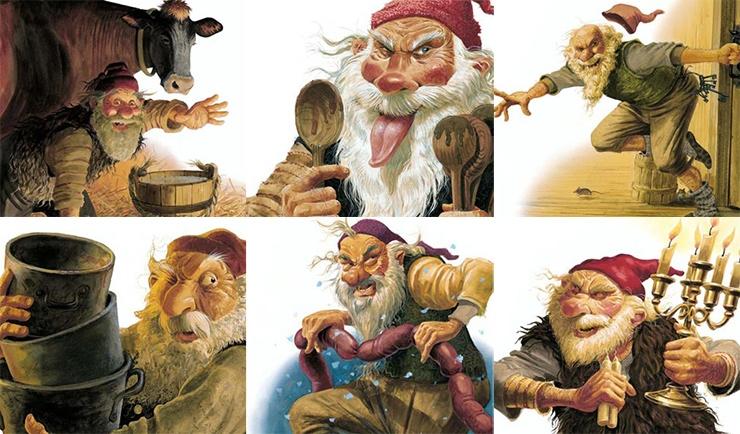6 жутких новогодних персонажей из разных стран мира
