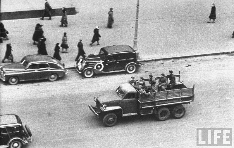 Москва послевоенная