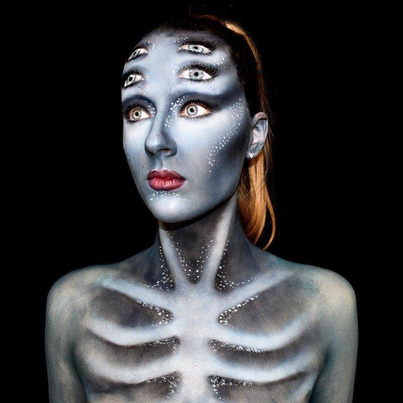 Жуткие и не только: образы визажиста Лары Уирс