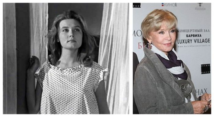 Советские актеры в начале своей карьеры и сейчас