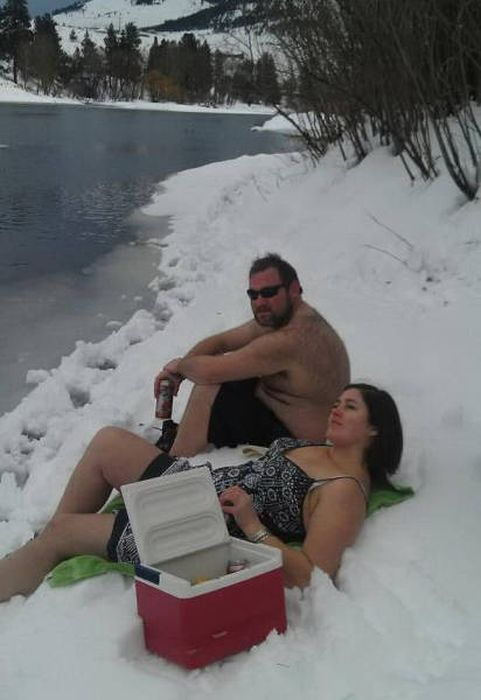 Этим людям не знакомо чувство холода