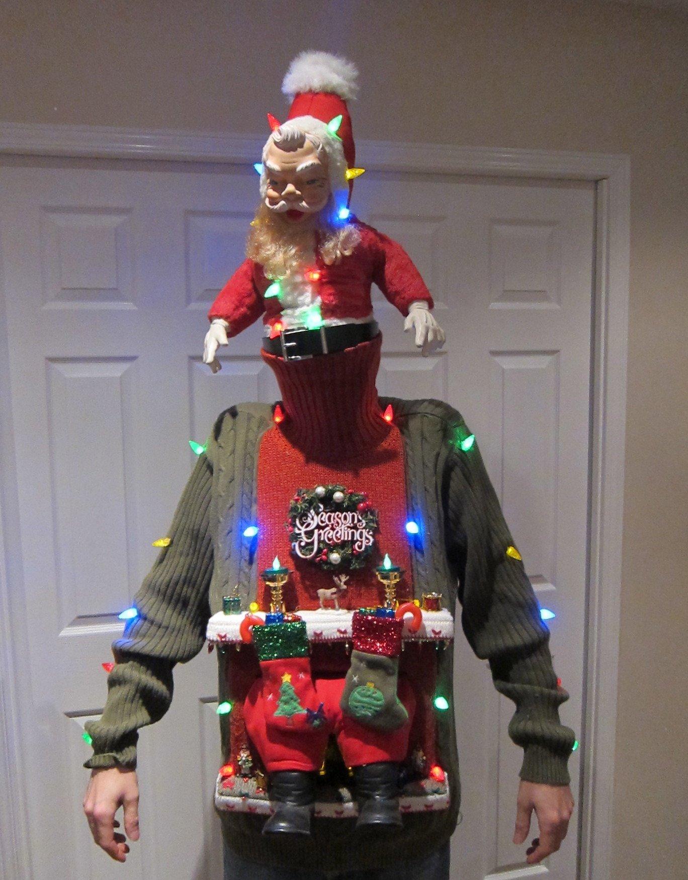 Смешные и нелепые рождественские свитера
