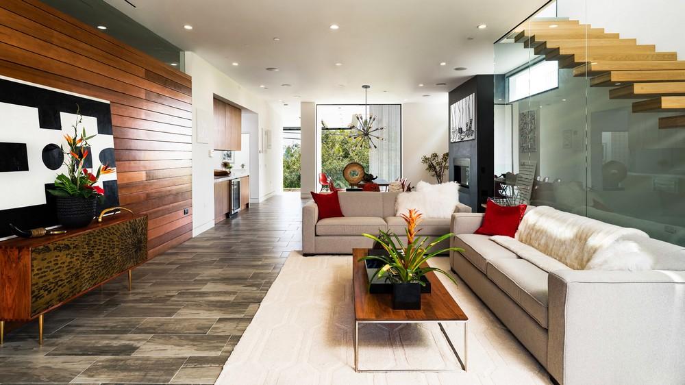 Семейный особняк в Лос-Анджелесе