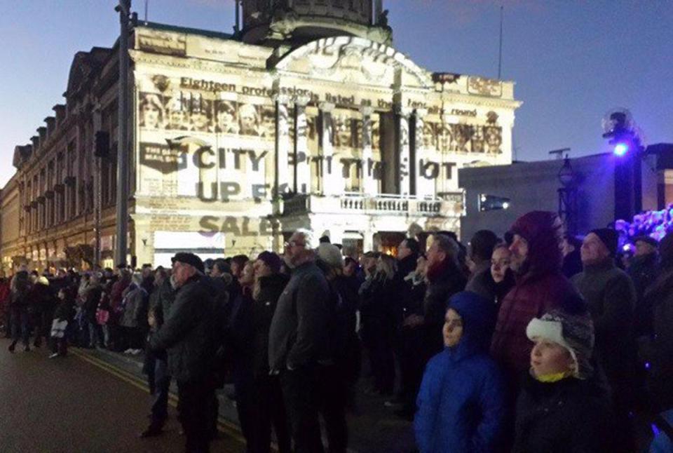 Как британцы отметили Новый Год 2017