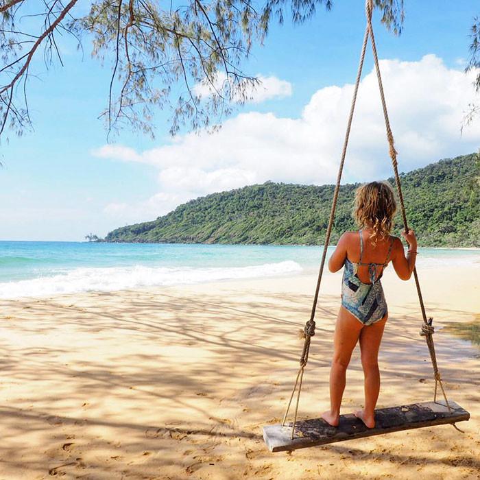 Австралийка потратила все сбережения на кругосветное путешествие с дочерью