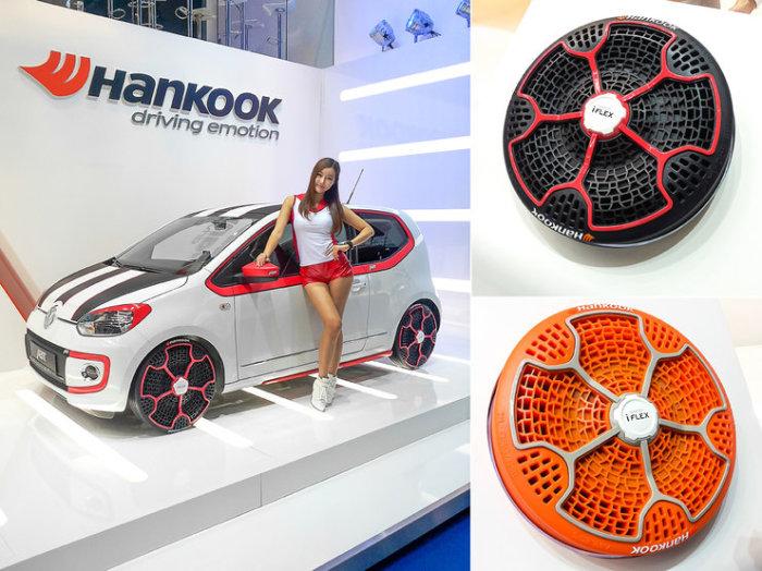 9 самых невероятных автомобильных шин будущего