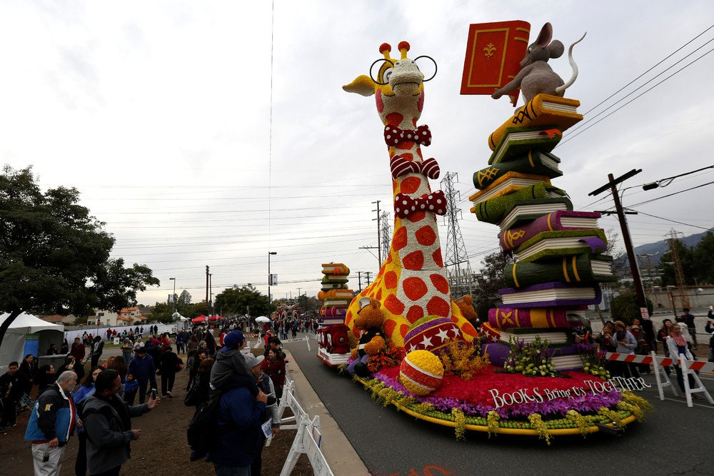 Парад роз в Пасадене 2017