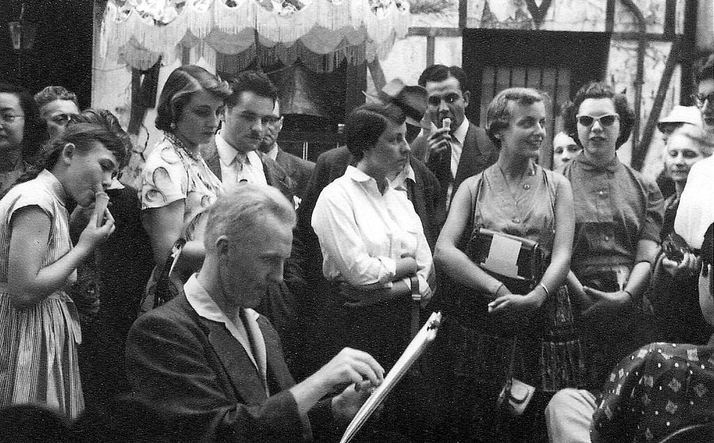 Париж в объективе фотографа-любителя в 1955 году