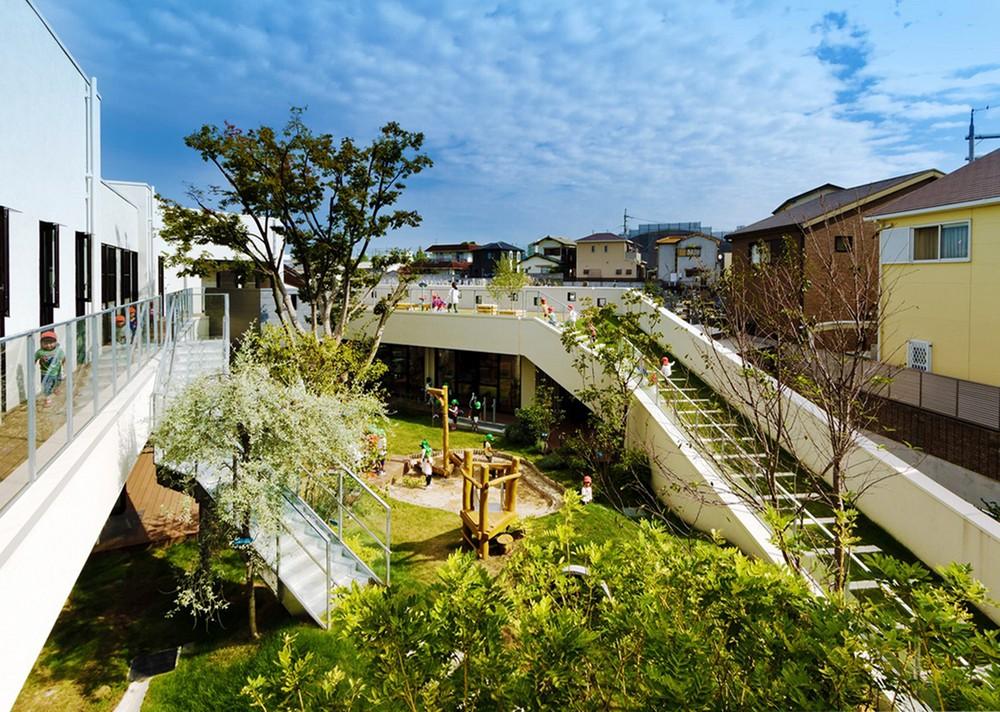 Детский сад-ясли в Японии