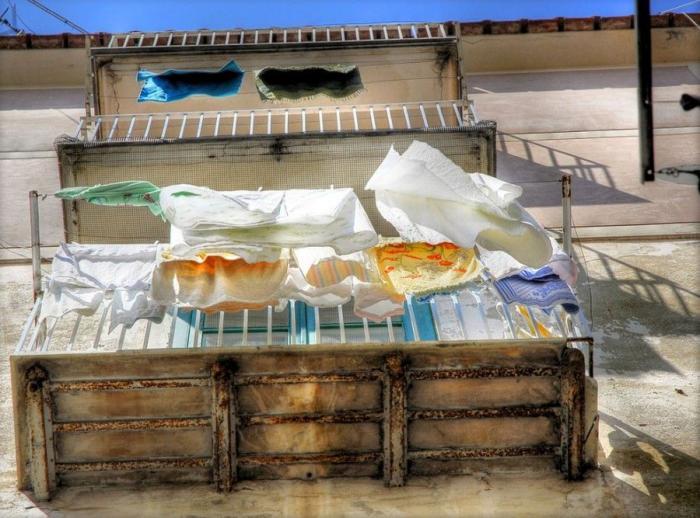 Как сушат белье в разных странах мира