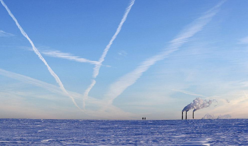 Зима в картинках по всему миру