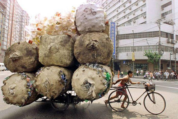 Мастера грузоперевозок на дорогах Китая