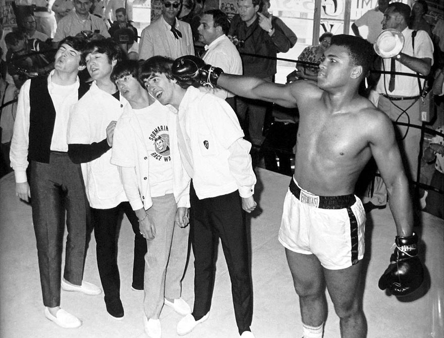 Мохаммед Али за пределами ринга