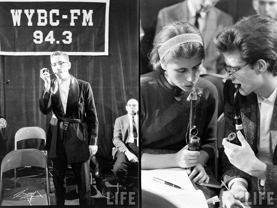 Дым коромыслом: соревнования по курению в США 50-х годов