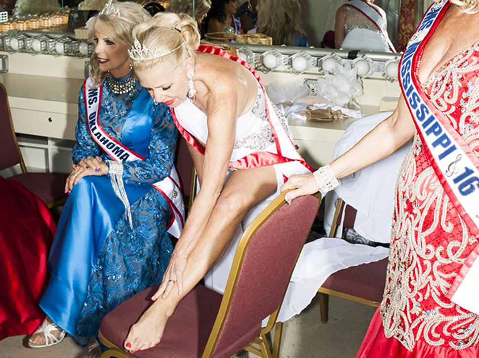 За кулисами конкурса красоты Мисс Возрастная Америка