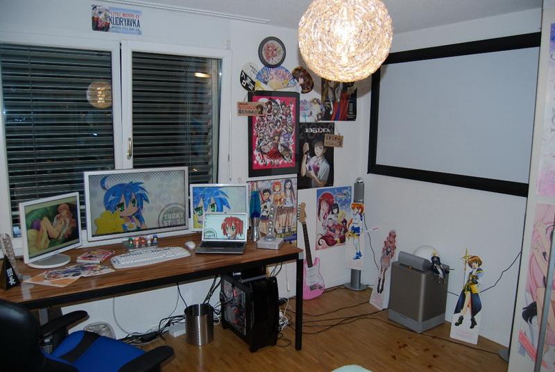 Комната фаната аниме и манги
