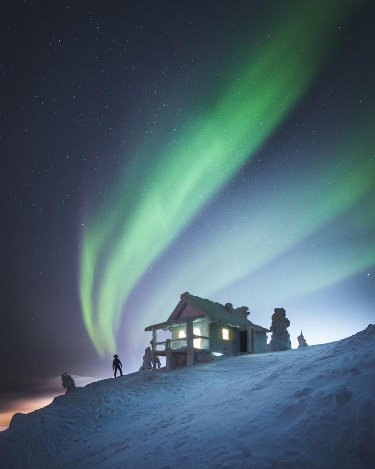 Красота Финляндии на волшебных снимках