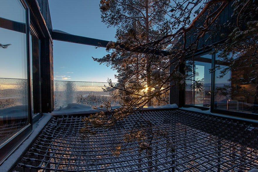 Седьмая комната - роскошный отель на дереве