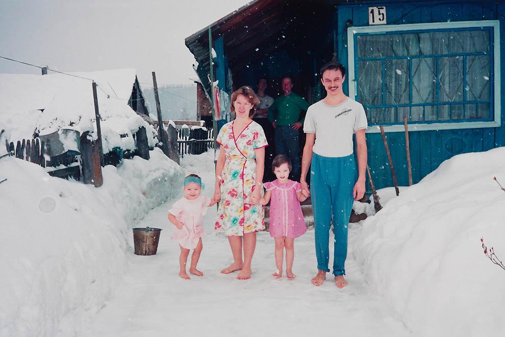 Начало девяностых на снимках Бертин Ван Манен