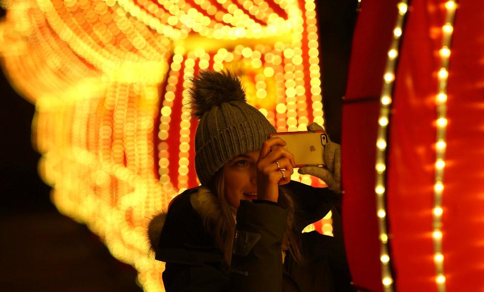Фестиваль волшебных фонарей в Лондоне
