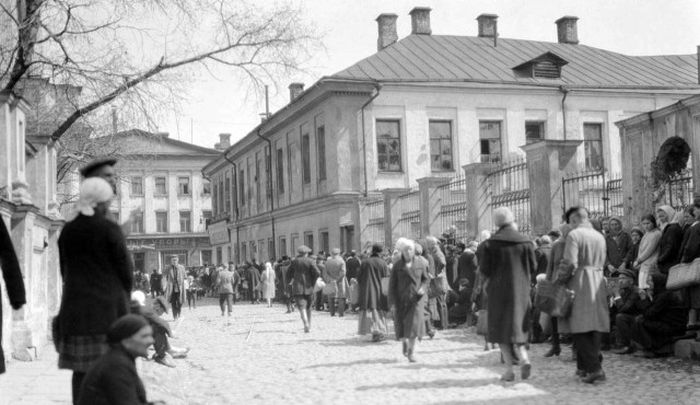Москва в 20-е годы XX века