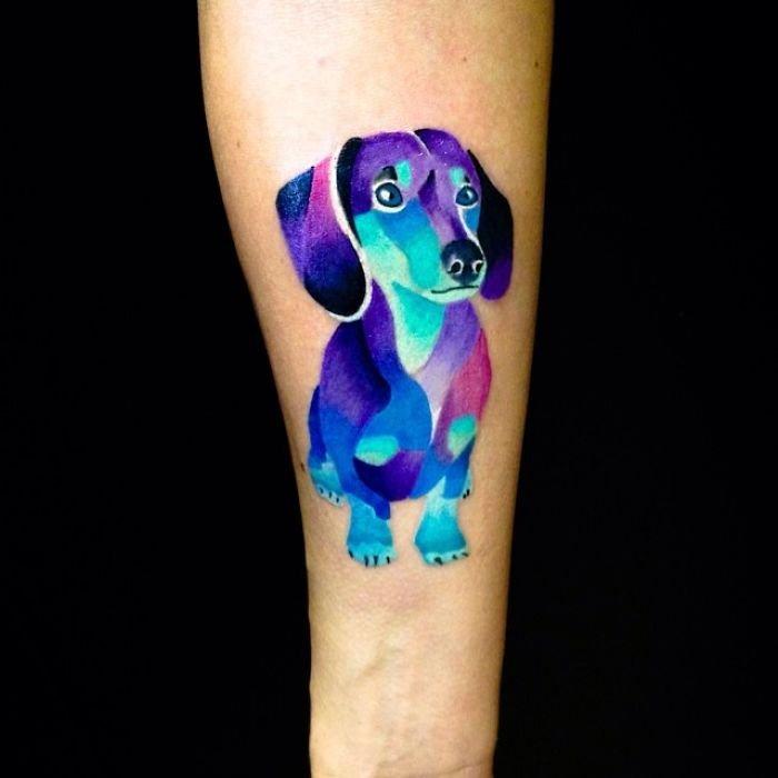 Татуировки с собаками