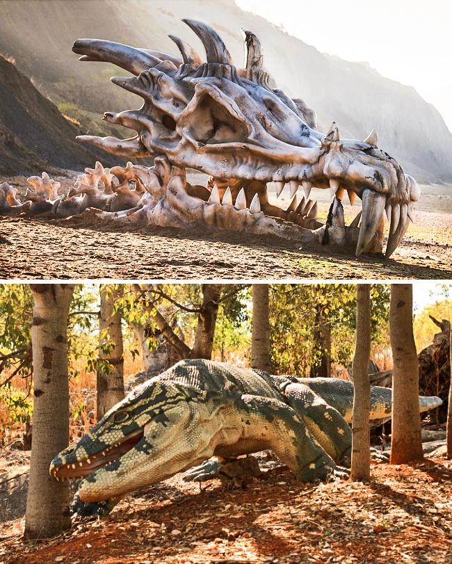 7 фантастических созданий, которые существовали на самом деле