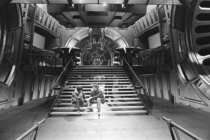 На съемочной площадке фильма Звездные войны. Эпизод VI: Возвращение джедая
