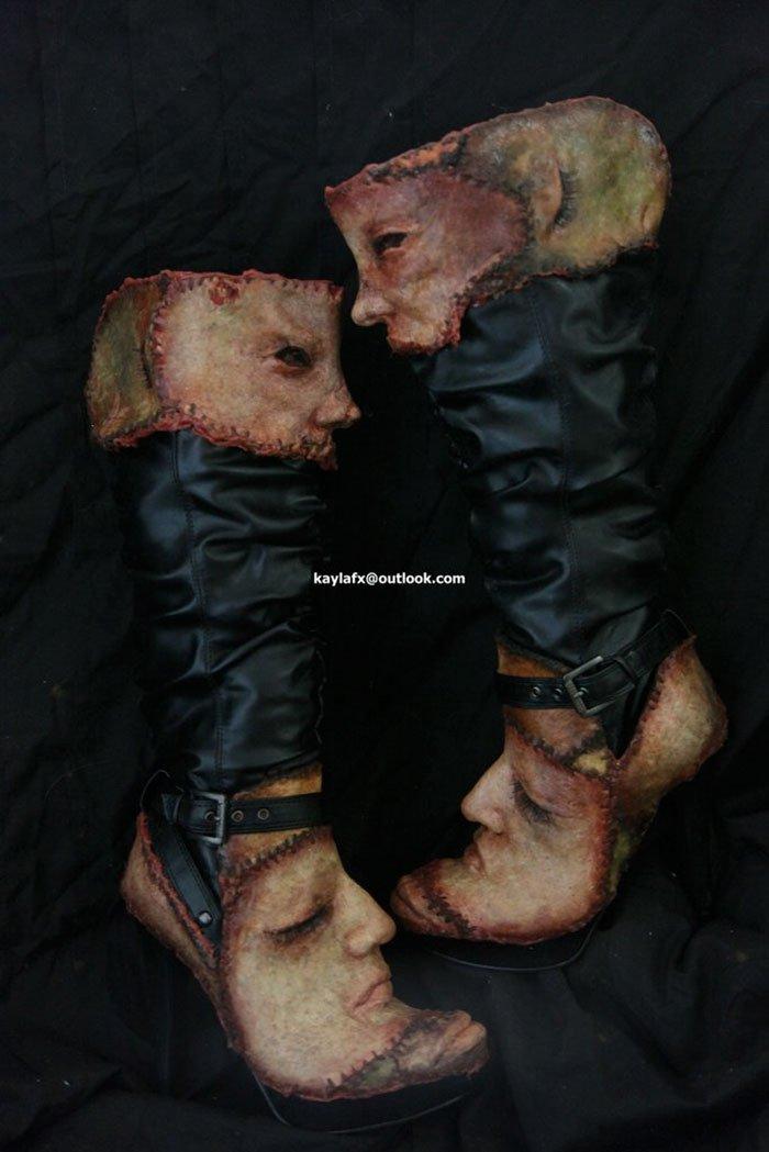Одежда и изделия из человеческой кожи
