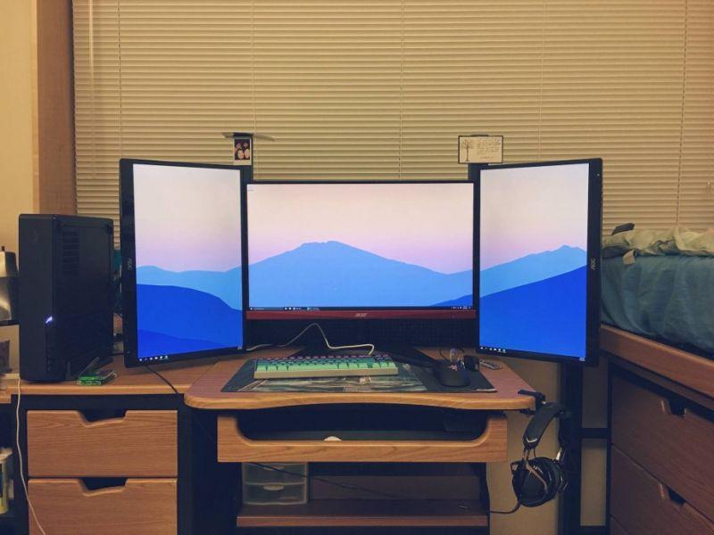Крутые геймерские и рабочие комнаты