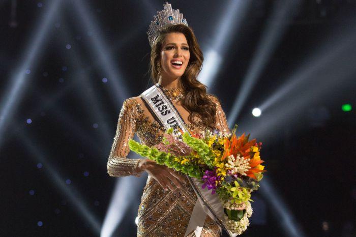 Победительница на конкурсе красоты Мисс Вселенная-2017