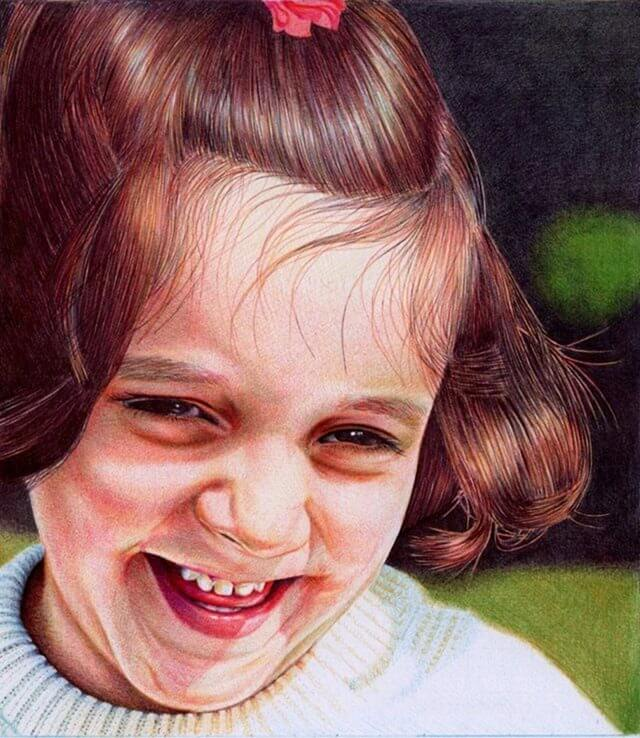 Фотореалистичные рисунки, выполненные шариковой ручкой