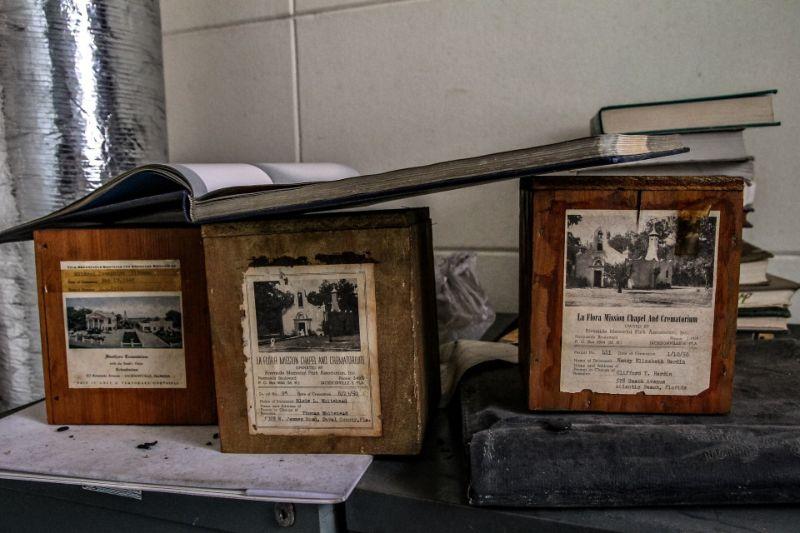 Экскурсия по заброшенному похоронному бюро