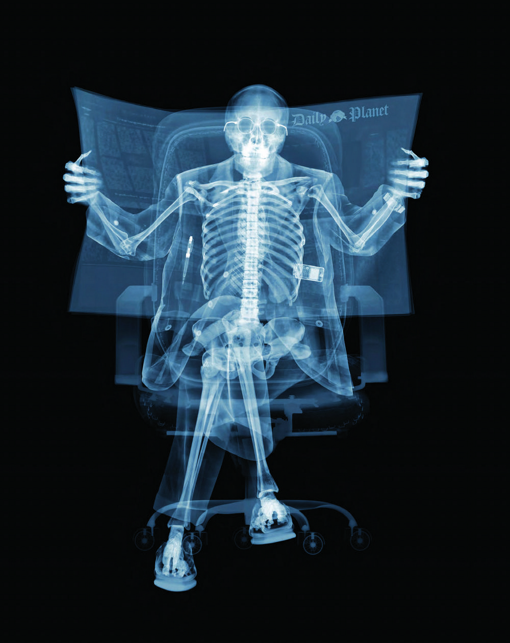 Удивительные рентгеновские фотографии Ника Визи