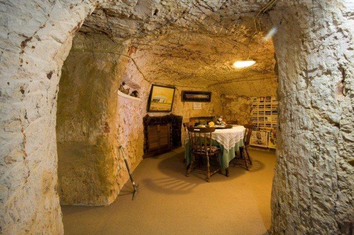 О городке Кубер-Педи, где люди живут под землей