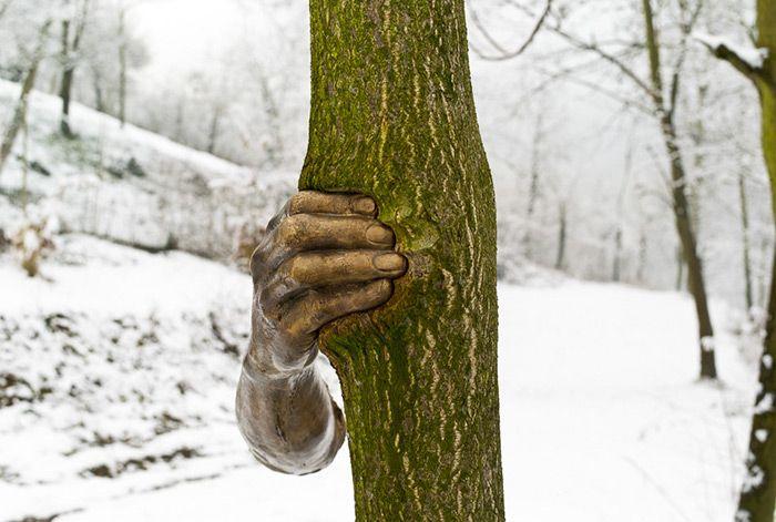 Скульптура в дереве