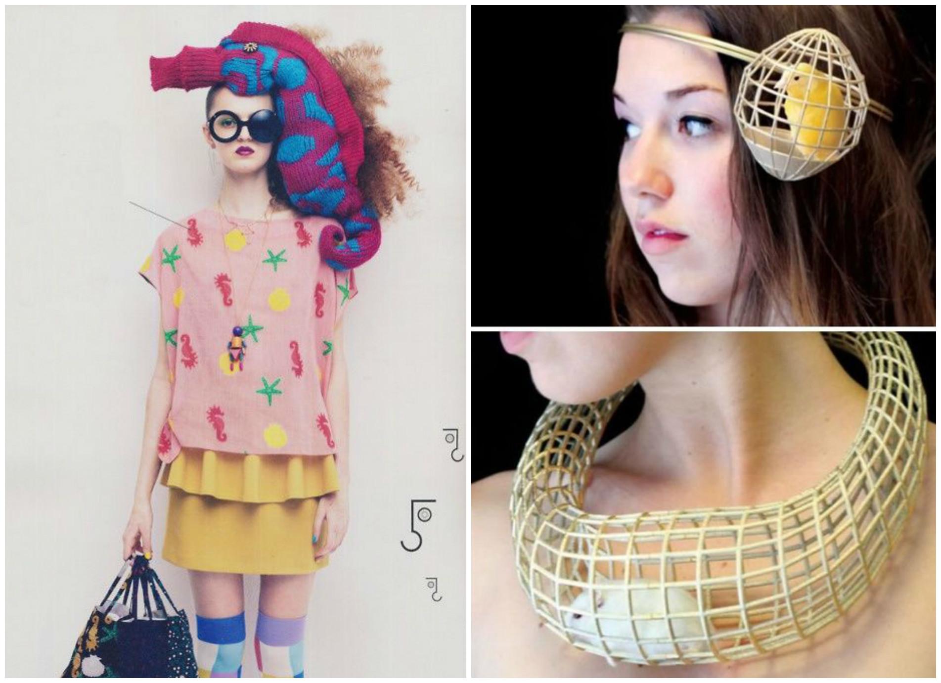 Психоделическая фантазия модных дизайнеров