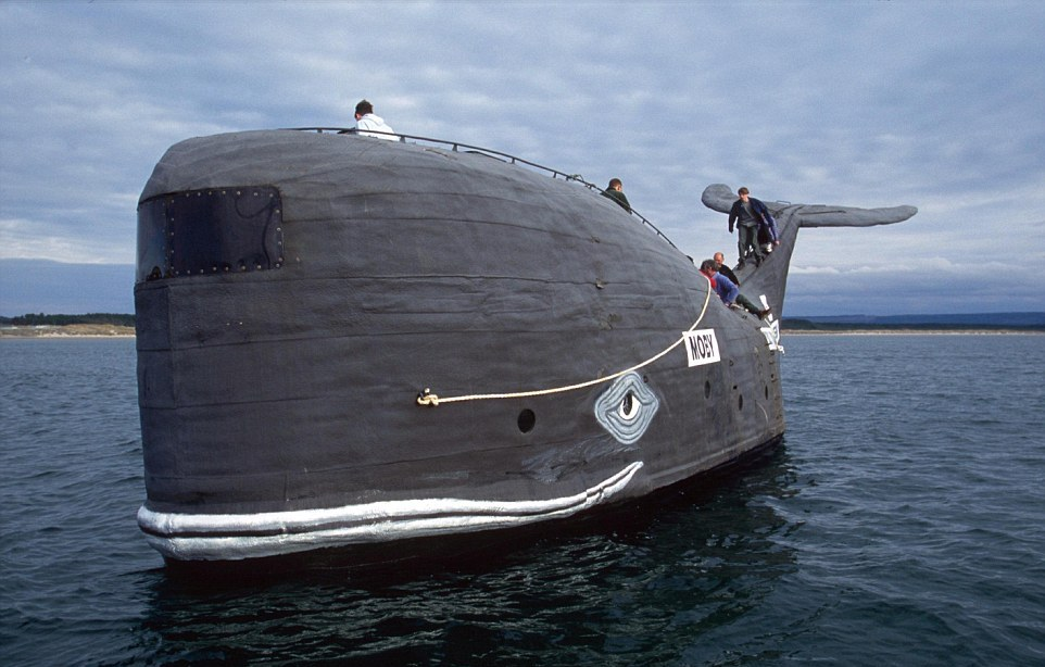 Странные и необычные морские судна