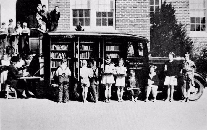 Мобильные библиотеки прошлого