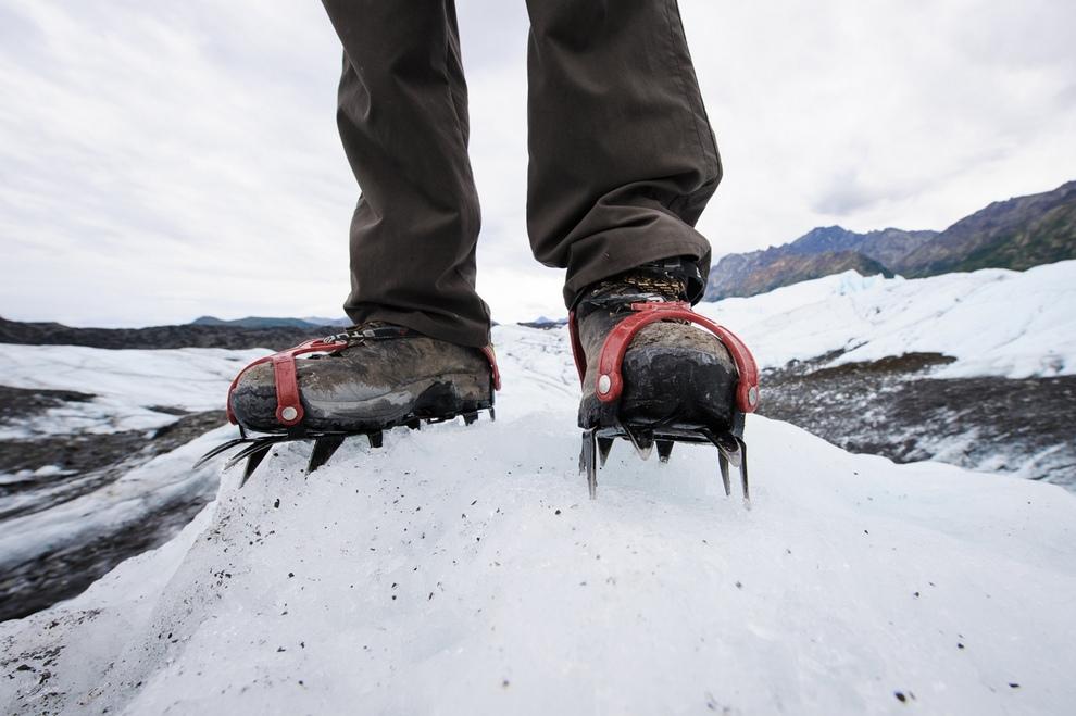 Удивительные ледники на Аляске
