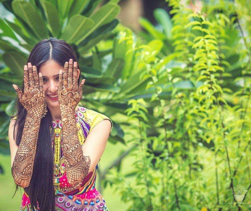 Свадебные татуировки индийских девушек
