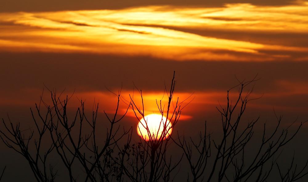 Красота рассветов и закатов