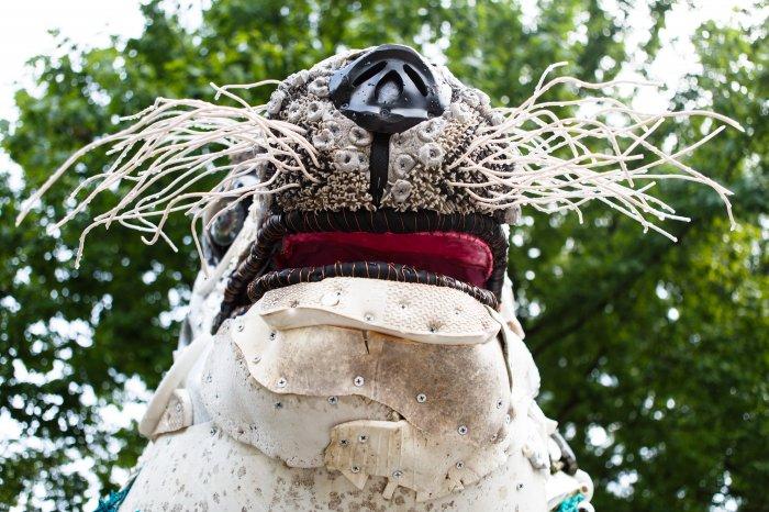 Пластиковый мусор как материал для искусства