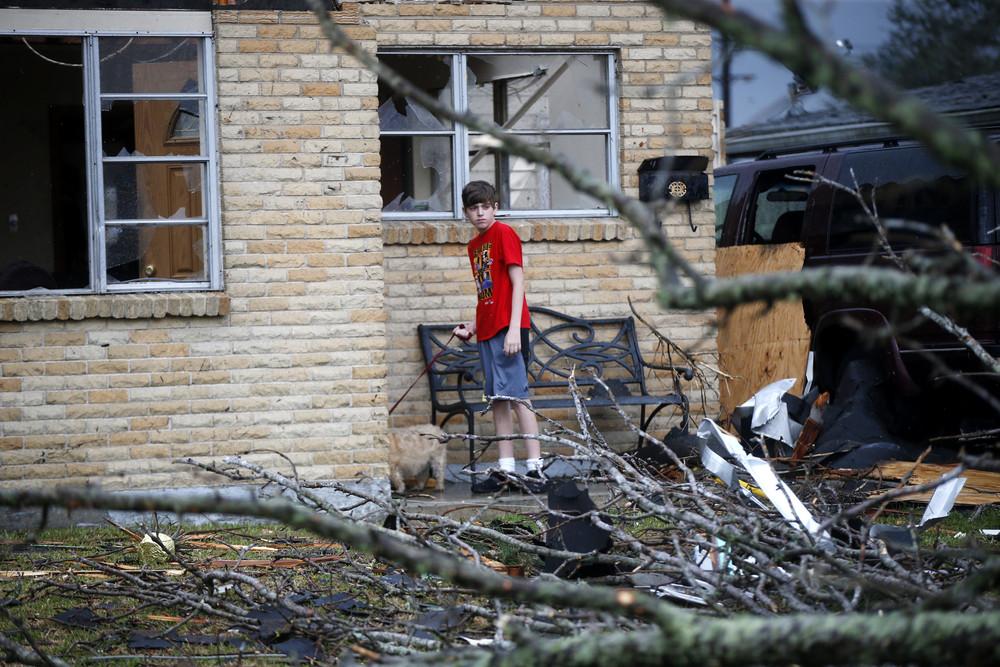 Последствия торнадо в Новом Орлеане