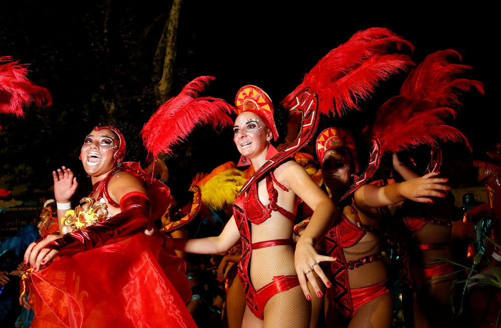 Карнавал Llamadas в Монтевидео