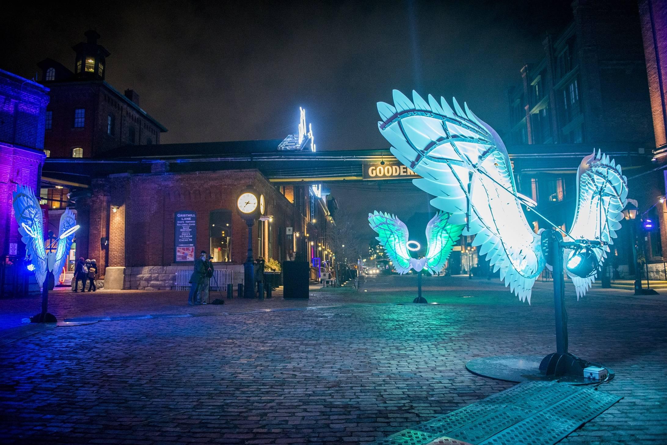 Фестиваль света в Торонто 2017