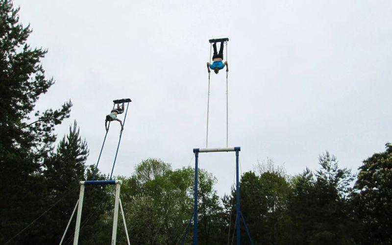Состязания по экстремальному катанию на качелях в Эстонии