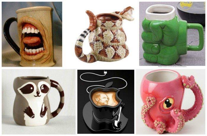 Особые чашки: идеи подарков