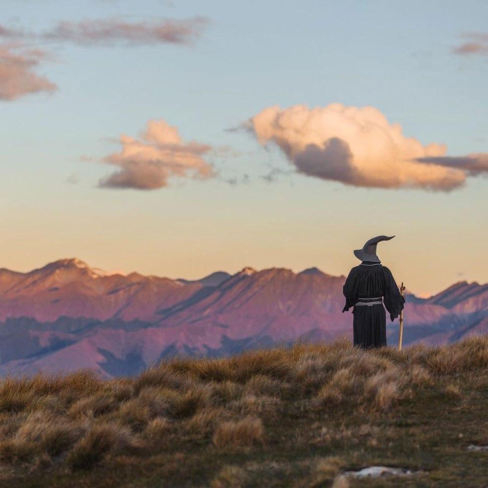 puteshestviya-gendalfa-po-novoj-zelandii-2 Путешествия Гендальфа по Новой Зеландии. ФОТО